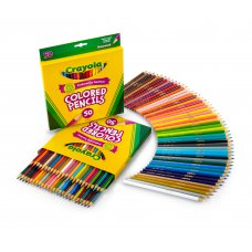 <現貨>  CRAYOLA PENCIL 50色彩鉛筆